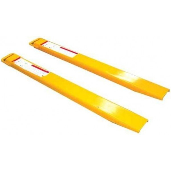 Fork Lift Extensions : Forklift fork extensions ext mm pallet
