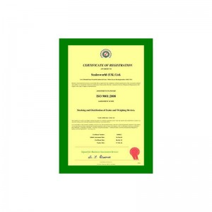 ISO 9001:2008 Load Test Certifcate 1