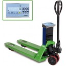 EC Approved Heavy Duty Weigh Scale Pallet Truck WEI-05 Silver