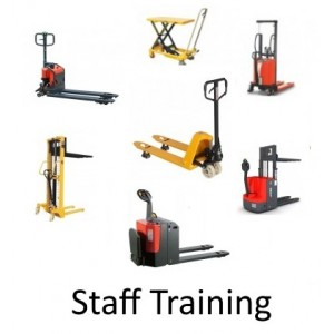 Onsite Staff Training for Hand Pallet Trucks / High Lifters / Lift Tables