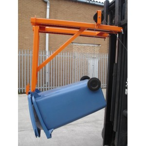 Forklift Wheelie Bin Lifter/Tipper 100KG
