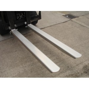 Forklift Fork Extensions IFE-672 150mm x 1829mm Stainless Steel Grade 304