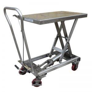 Stainless Steel Mobile Scissor Lift Table BSL20SS 200KG
