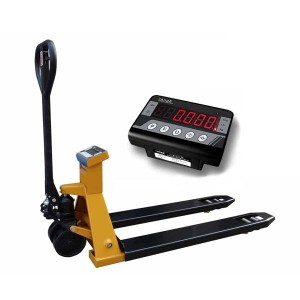 Pallet Truck NDPYP Weigh Scale With Printer 550mm or 685mm x 1150mm 2000KG x 1KG