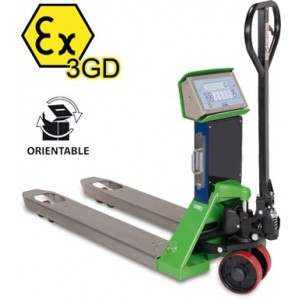 Pallet Truck Scale TPWX3GD Hazardous Zone 550mm x 1150mm 2000KG