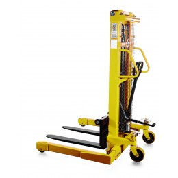 Straddle Leg Stacker SFH-1025AG 2.5M Lift 1000KG with Hand and Foot Pump