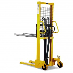 Standard Manual Hydraulic Stacker SFH-1516C 1.6M Lift 1500KG with Foot Pump