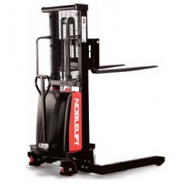 Straddle Leg Stacker SPN1035A-ES Semi Electric Adjustable Legs 3.5M Lift 1000KG