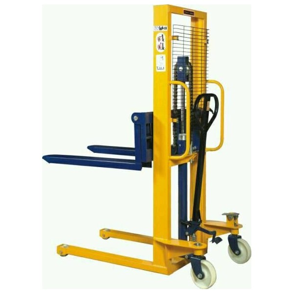 Hydraulic Pallet Lifters : Pallet stacker efs manual forklift m lift kg